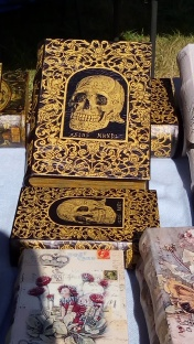 Cool skull book boxes
